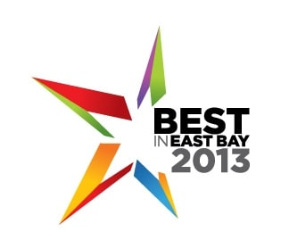 Voted Best in the East Bay 2012