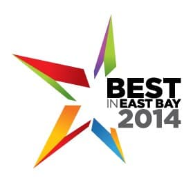 Voted Best in the East Bay 2014